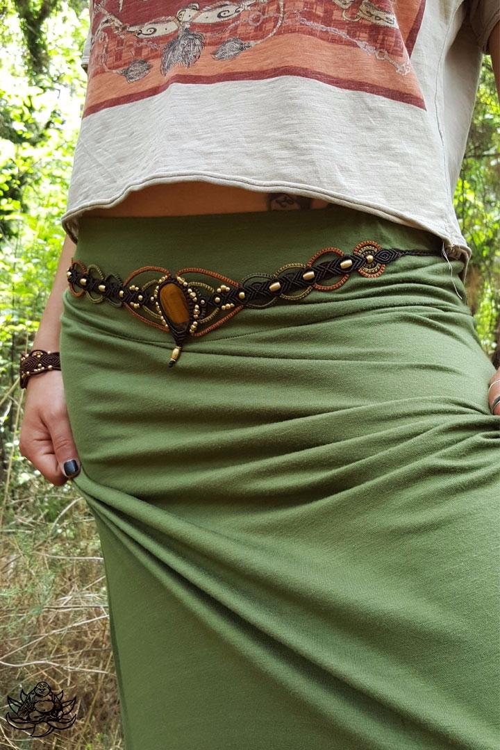 Unique macrame belt handmade da - laughingbuddha_macrameart | ello