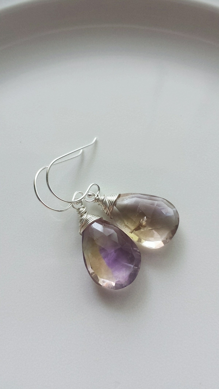 Ametrine gemstones dreamy stone - blackwoodarts | ello