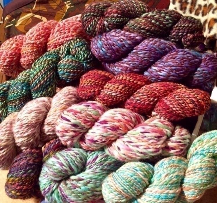 Gorgeous Handdyed, Handspun 100 - medusas_handmade | ello