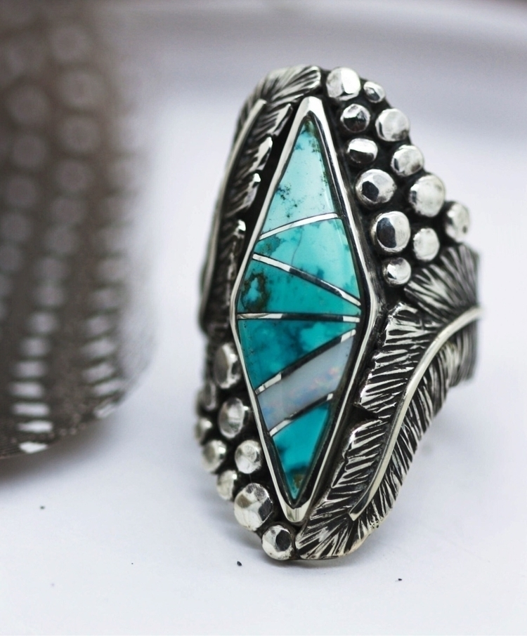 Lovely Sky Cloud + Aussie Opal - appaloosadesignsjewelry | ello