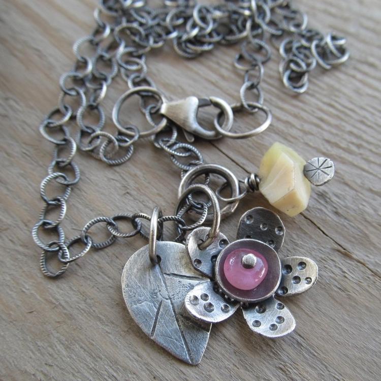 Sterling gemstones, bloom - handmadejewelry - artdi | ello