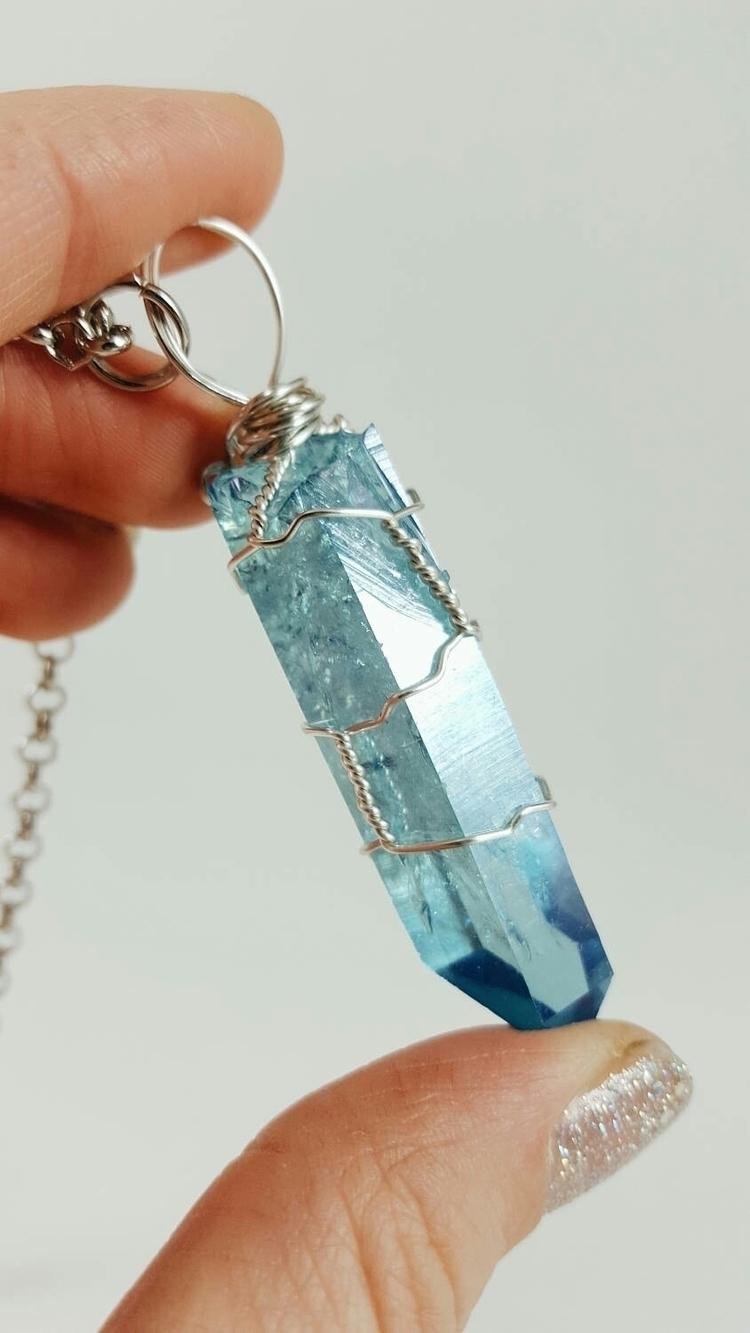 Aqua Aura favorite crystals wor - fogandfae | ello