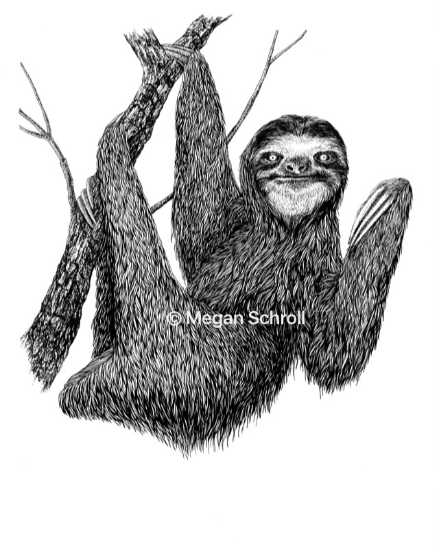 Live Slow, Die giclee Print ori - meganschrollart | ello