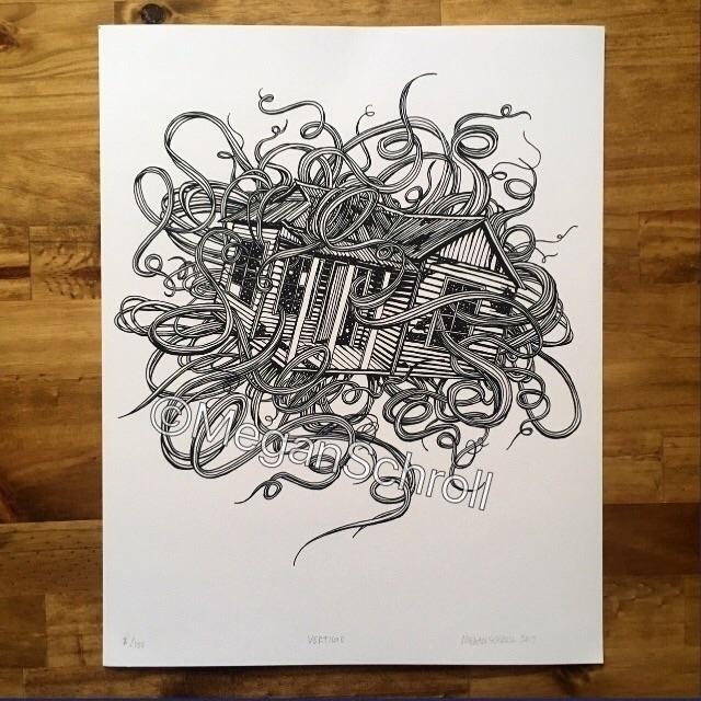 Vertigo 11x14 giclee print orig - meganschrollart | ello