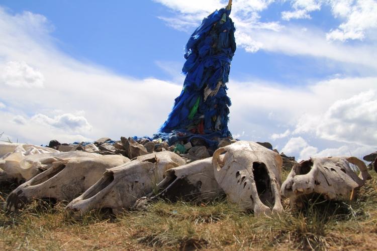 Mongolia. Kharkhorin. Mountain  - tmayko | ello