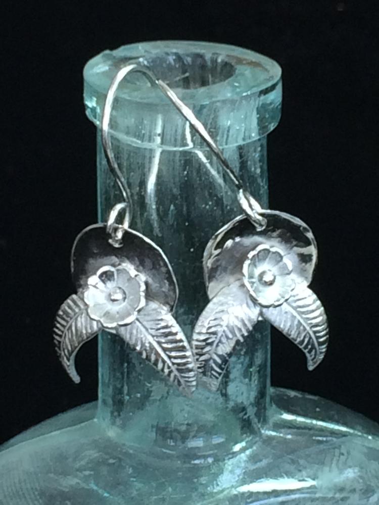 Silver Drop Earrings  - desertnightsstudio - desertnightsstudio | ello