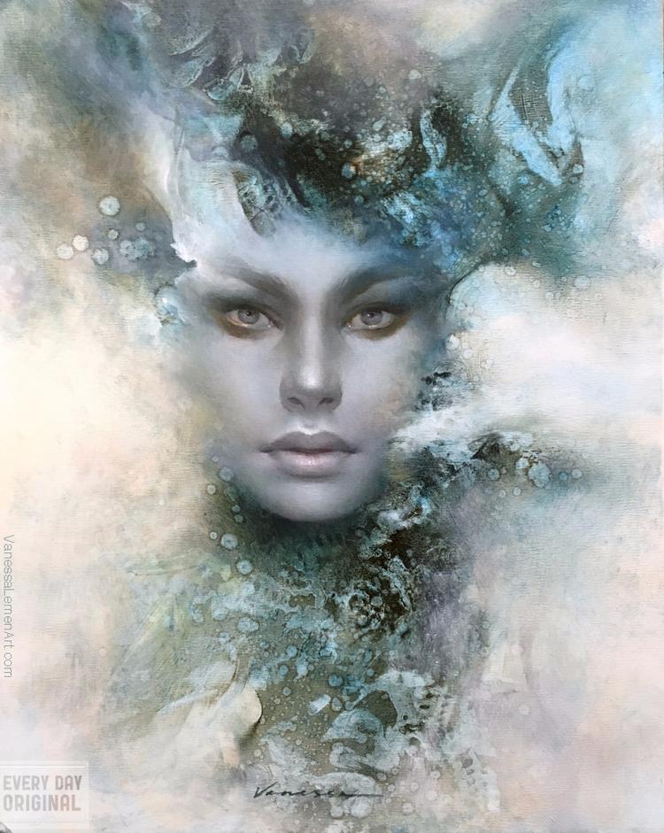 'Darya' Vanessa Lemen Day Origi - geekynerfherder | ello