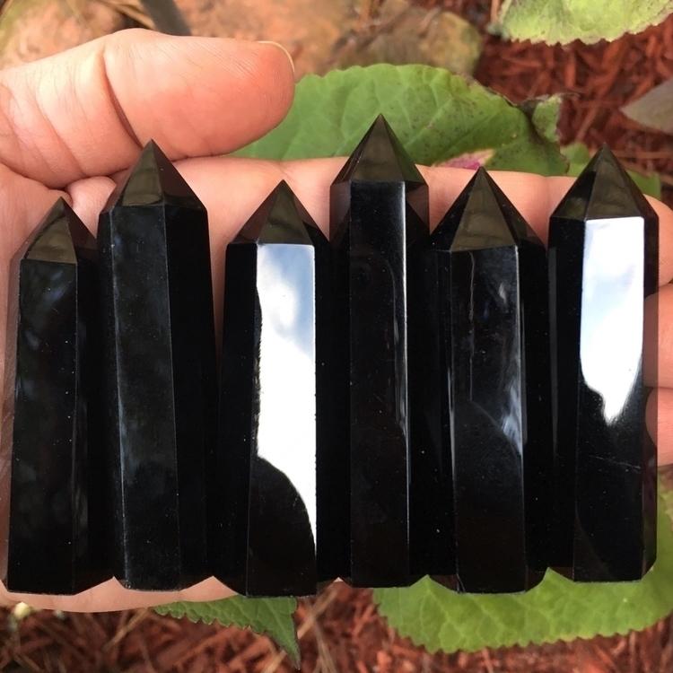 Black Obsidian 🖤 stones protect - thesacredcrystal | ello
