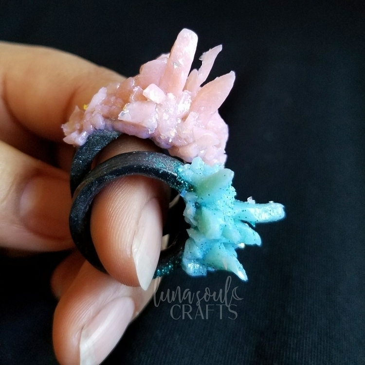 magical rings! ✩°。⋆⸜(ू˙꒳​˙ ) fu - lunasoulcrafts | ello