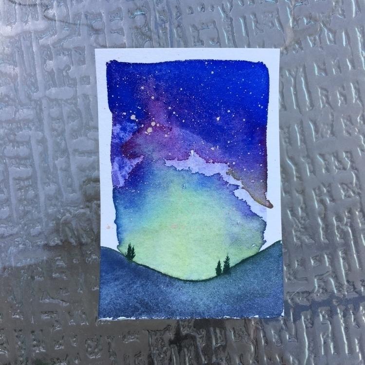 ello! miniature watercolor gala - elissanesheim | ello