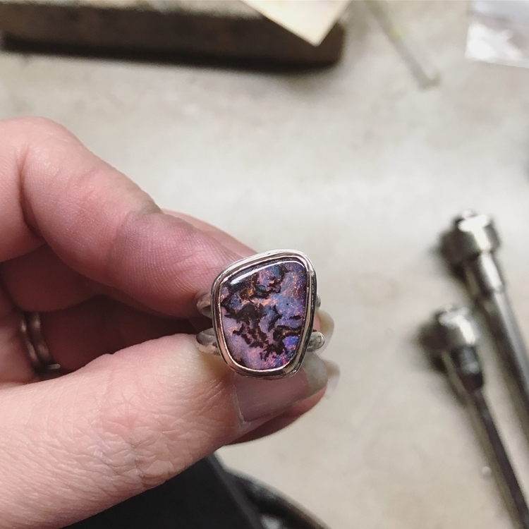 work progress. Australian opal  - loveactuallyjewelry | ello