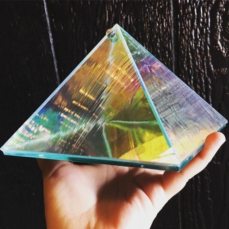 Charging + Intention Pyramid. O - helloviolet   ello