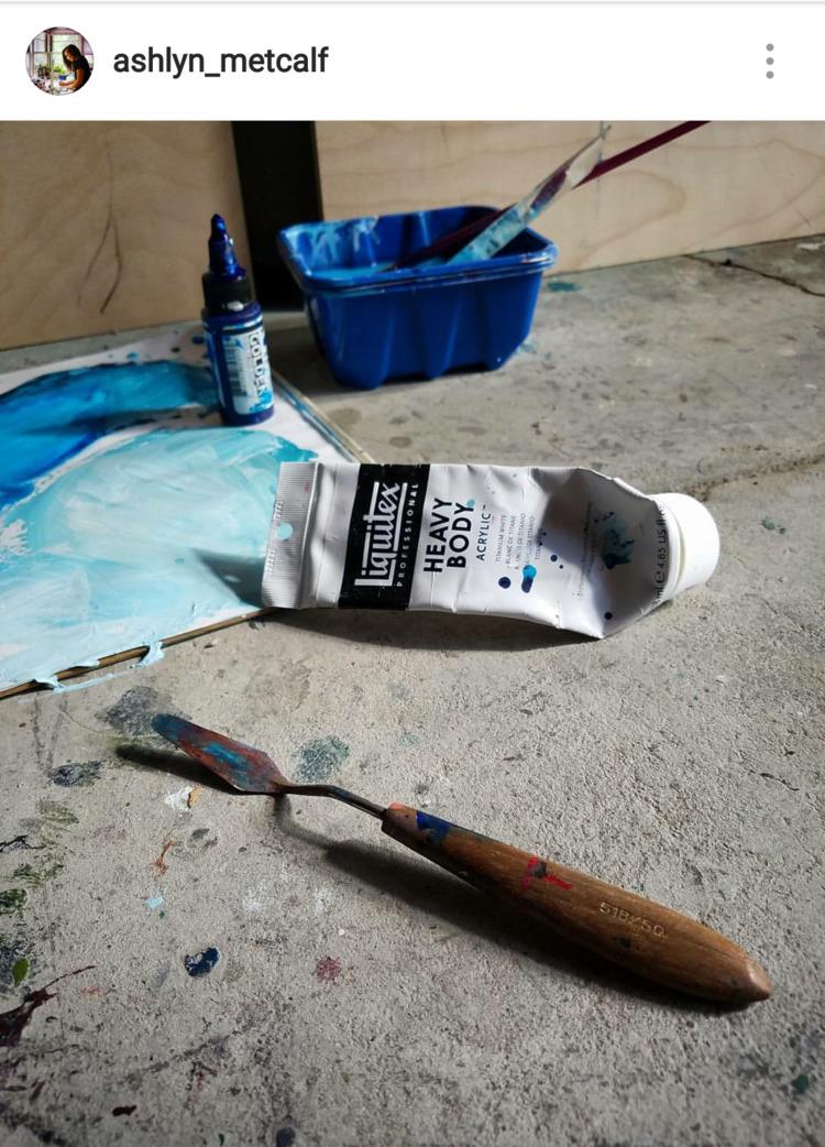 Hit - artist, painter, introvert - ashlyn_metcalf | ello