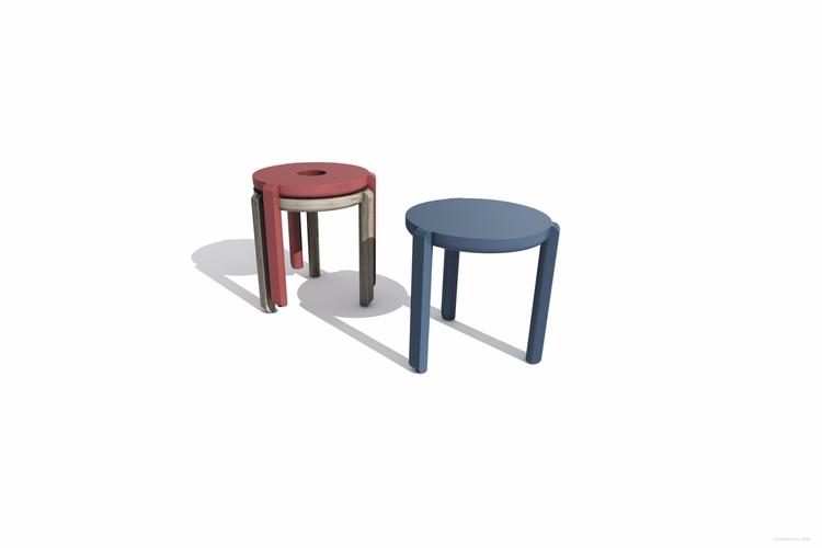 stole - minimal, furniture, stool - mhjl | ello
