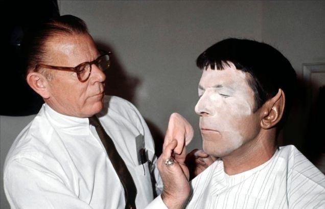 Leonard Nimoy Spock Star Trek - photography - modernism_is_crap   ello