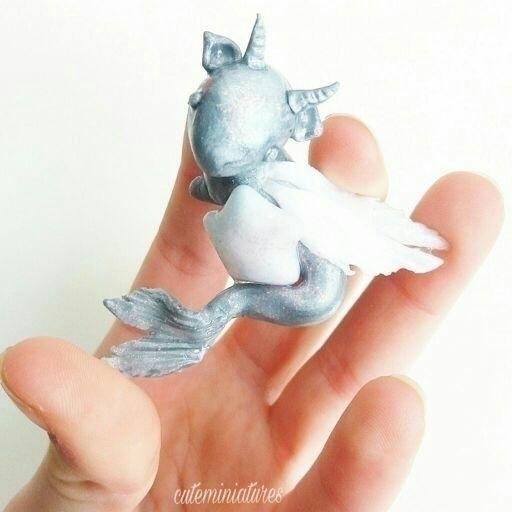 Merunigon polymer clay. creatur - artbyhan13 | ello