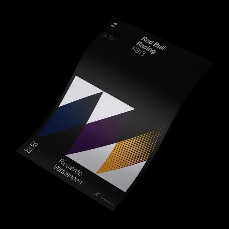 Formula Poster Series 2017 — 2 - duanedalton | ello