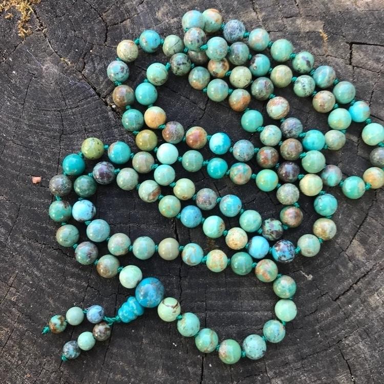 turquoise 🤤 108 bead mala - Turquoise - edenatdusk | ello