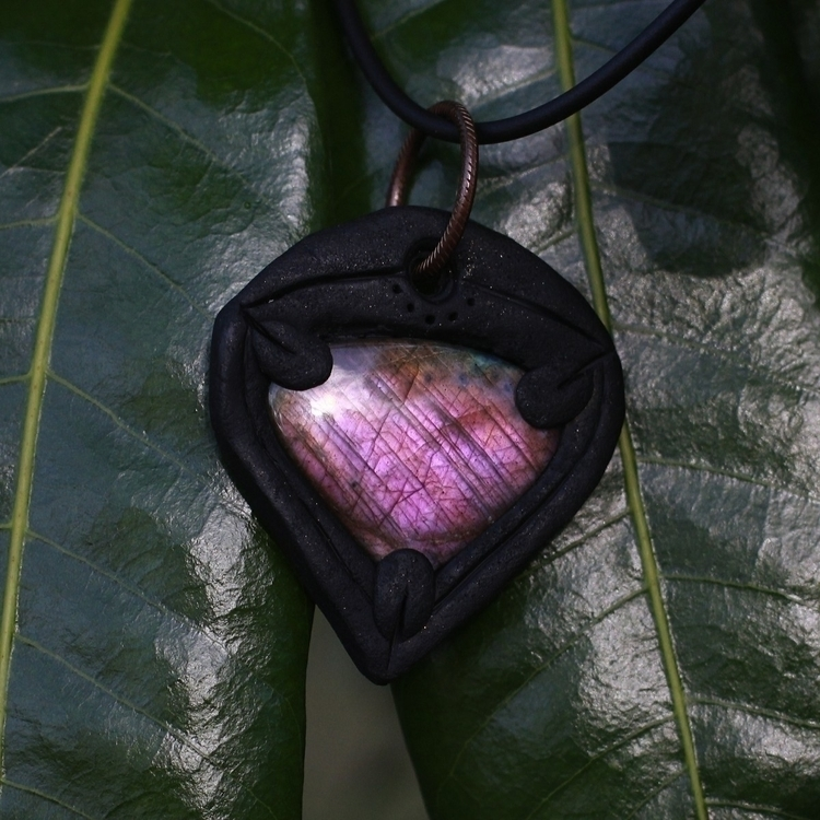 Reversible purple labradorite p - denderalight | ello
