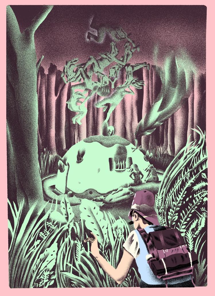 Nature Stuff - illustration, illustrator - richchane | ello