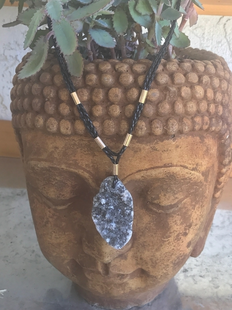 necklaces added week - buddha#zen#druzy#rocksandminerals#loveandlight#crystals#stones#gems - rockparadise | ello