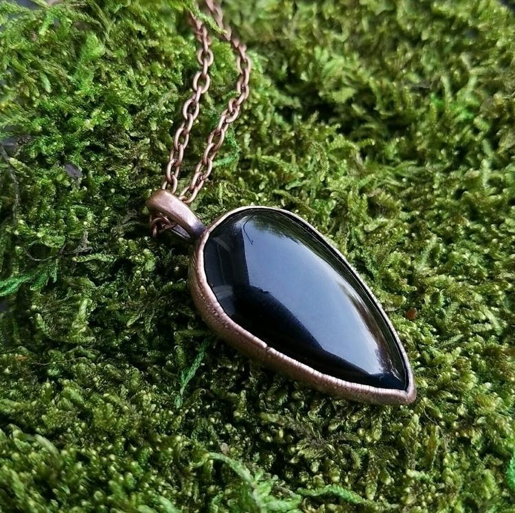 lovely, sleek copper electrofor - thevioletmaiden | ello