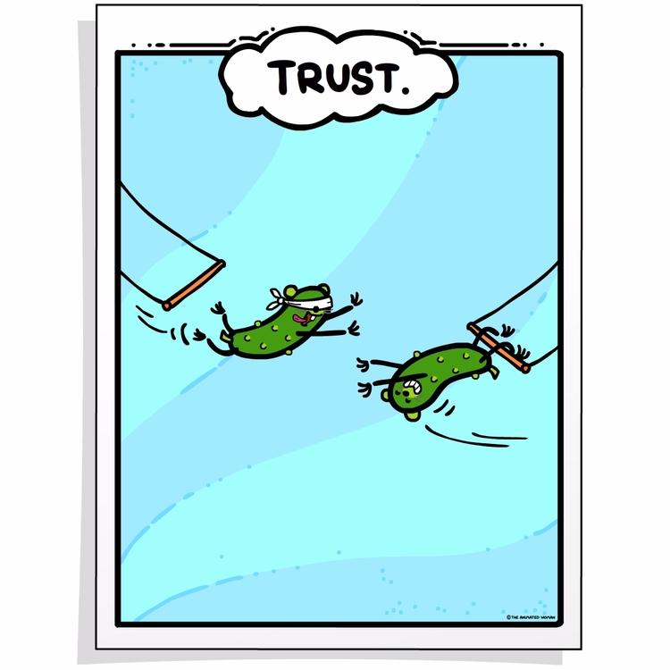Trust. series character educati - theanimatedwoman | ello