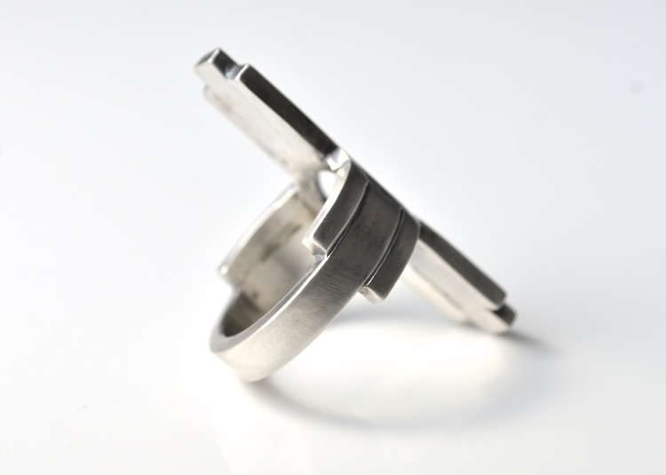 Zia Band Statement Ring - grow  - mineralrare | ello