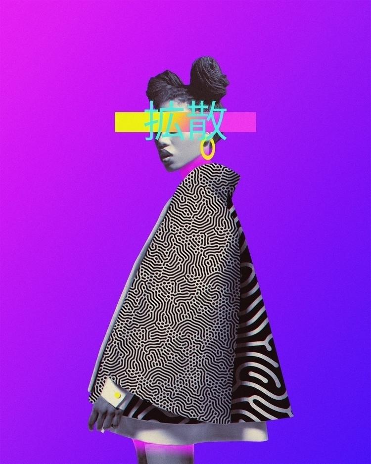 • Diffusion Instagram Prints - Abstract - dorianlegret | ello