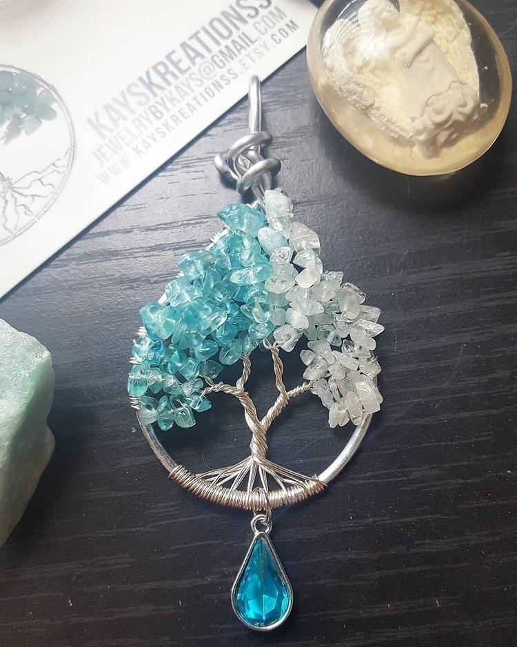 Blue favorite colors . tree Apa - kays_kreationss | ello