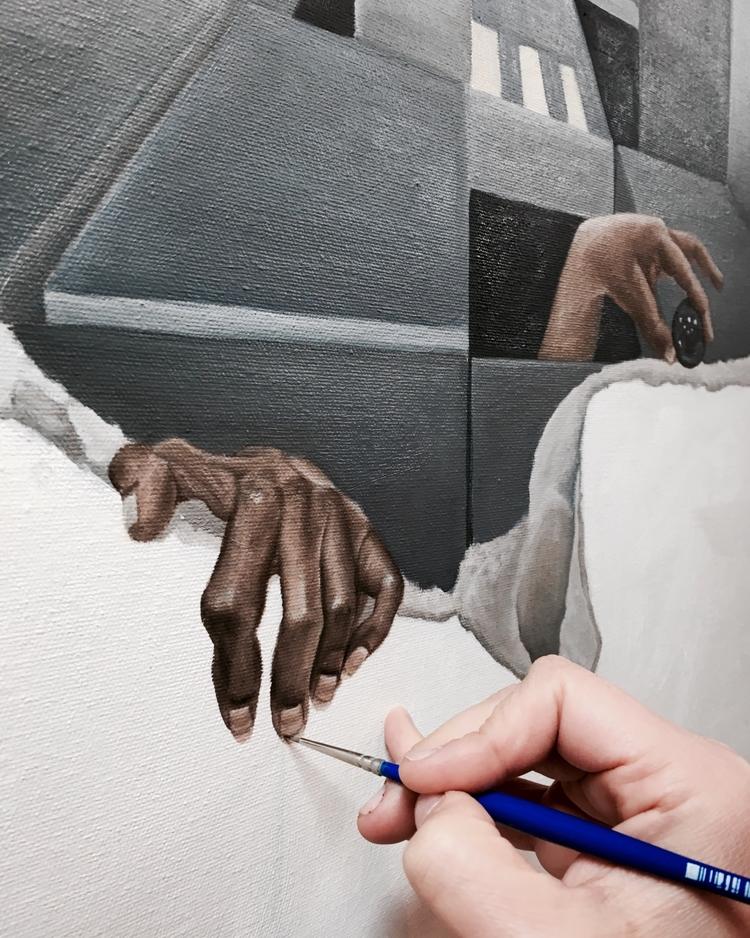 Hands: easy, favorite paint - hands - jlking | ello