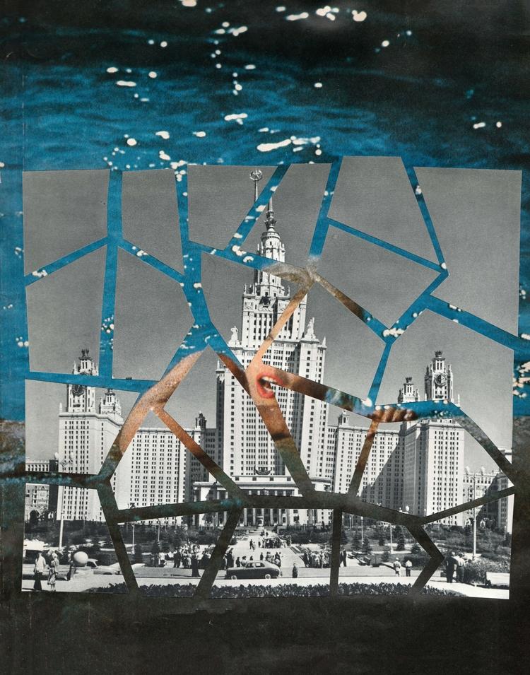 Fragile - 26x33,3 cm Paper coll - claire_martine_   ello