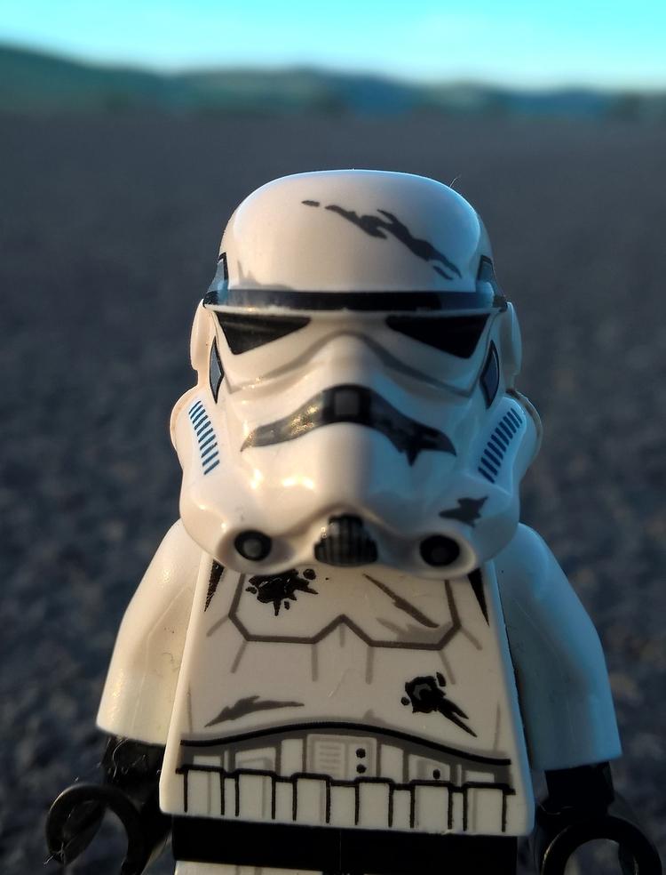 morning walk - stormtrooper, starwars - chogall | ello