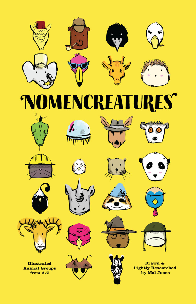 Nomencreatures Book Cover final - maljones | ello