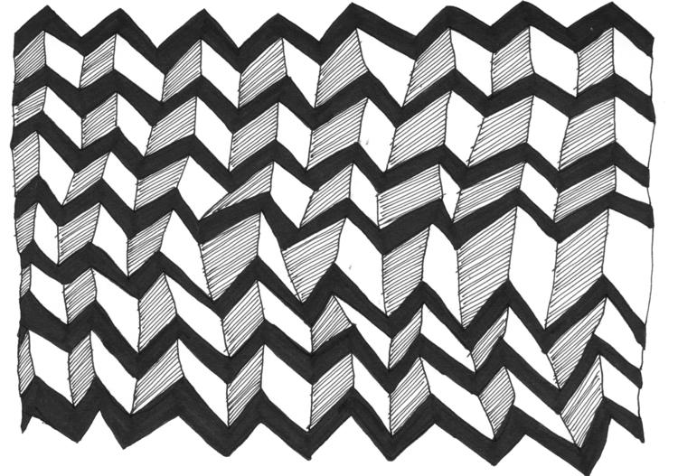 bw, graphic, stripes, lines, pattern - amafaldaam | ello