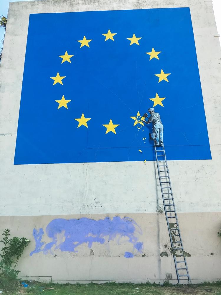 Banksy Artwork, Dover, Kent - iphone6s - toshmarshall | ello