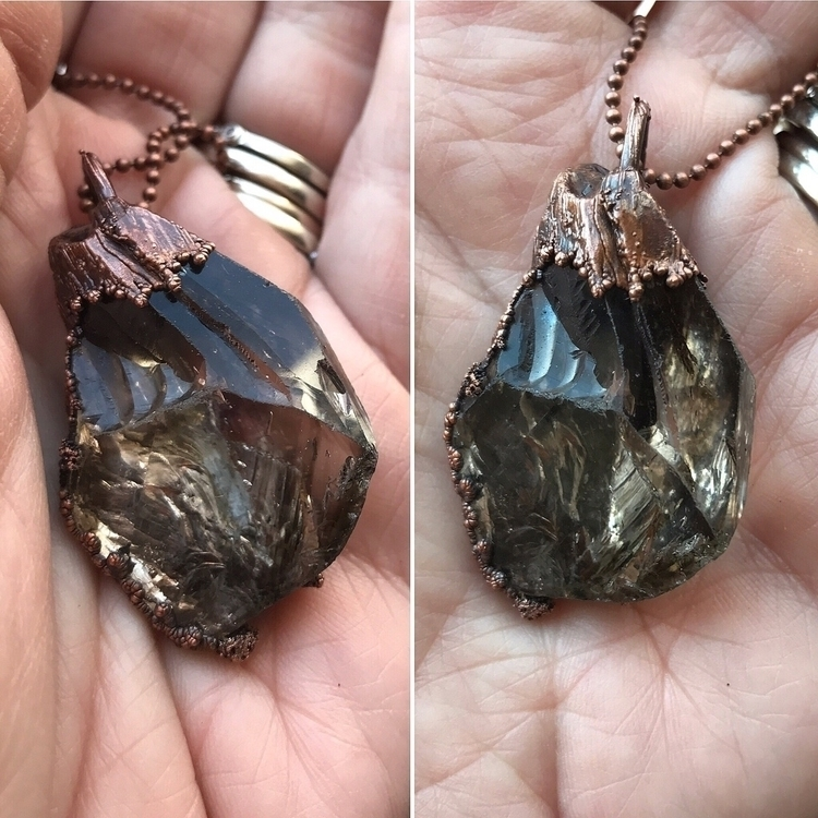 clear Smokey quartz, phantoms,  - yamsjewelry | ello