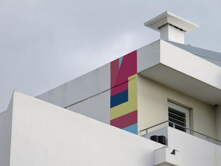 Composition Building, detail, R - eltono   ello