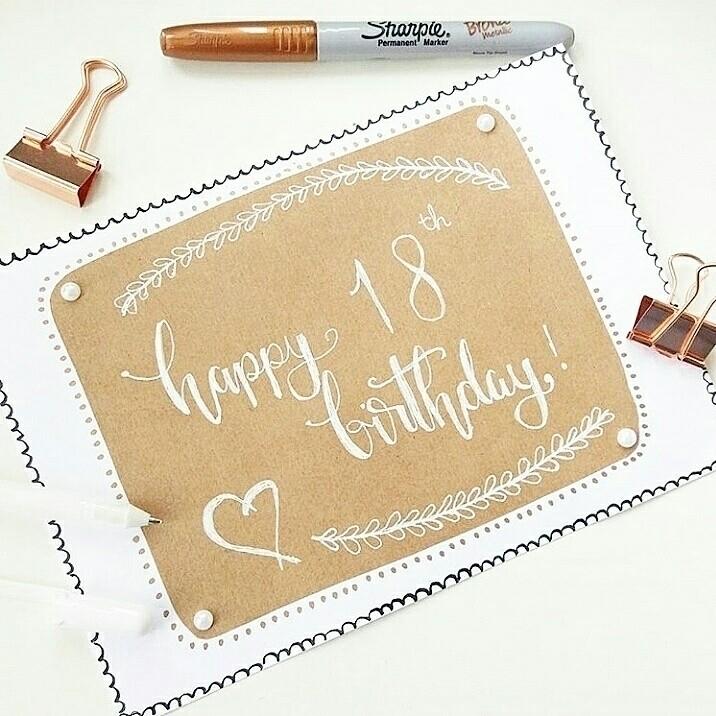 months birthday card 18th. glad - artbyhan13 | ello