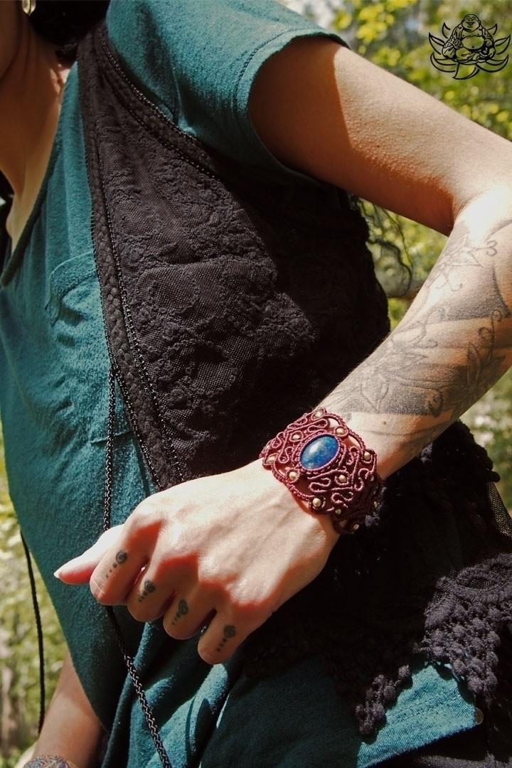 kind macrame bracelet handmade  - laughingbuddha_macrameart | ello