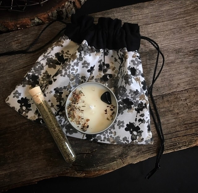Spell set Hearth Crow 🖤:herb - witchshop - hearthandcrow   ello