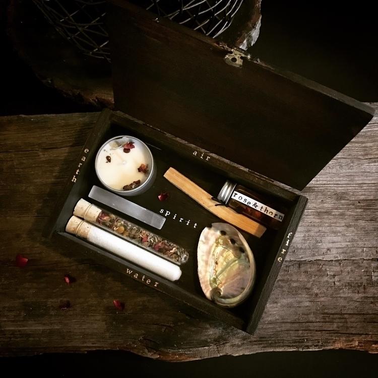 vintage cigar box altar set sho - hearthandcrow   ello
