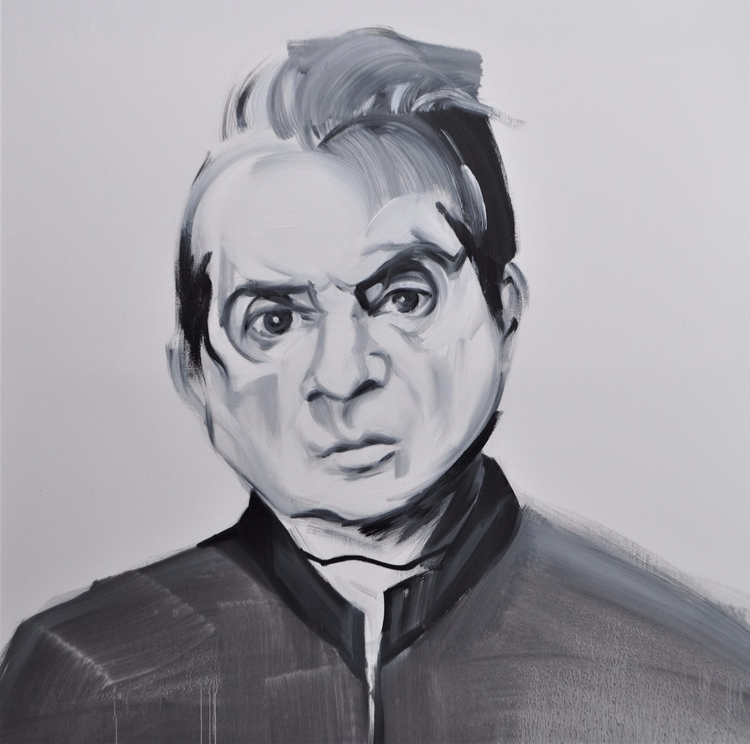 francis bacon oil canvas 60x60  - judytakrawczyk | ello