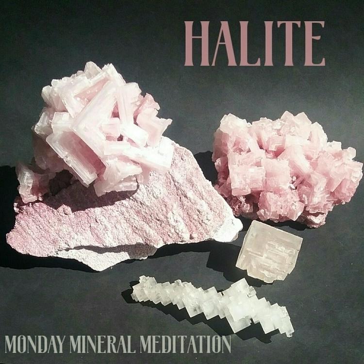 Monday Mineral Meditation ♢ Hal - sacredservicereiki   ello