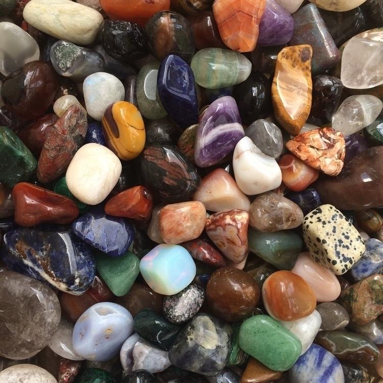 tumbled stone babies:heart:️:he - crystalphase   ello