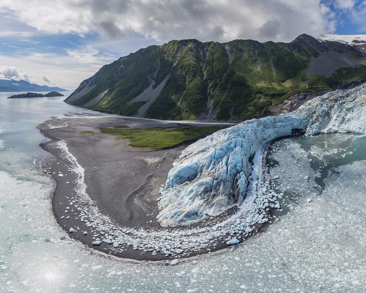 *Aialik Glacier Bay Aerial* Fly - tobyharriman | ello