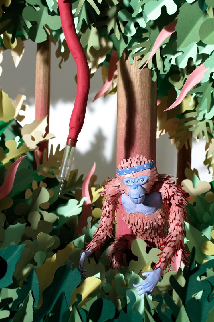 Monkey da jungle - Papercut, Volume - tomrouleau | ello
