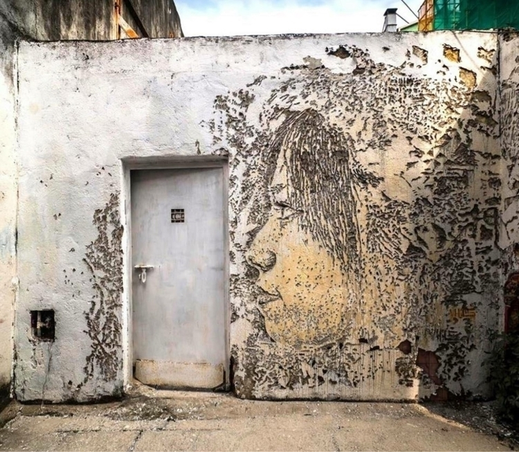 Artist: Vhils China - graffitiart - streetartunitedstates | ello
