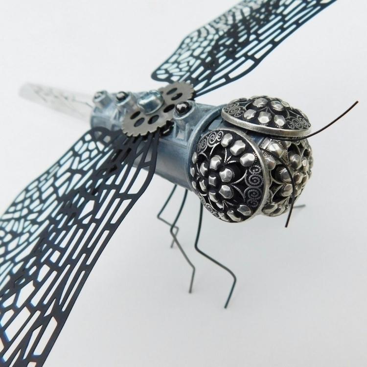 Handmade Steampunk Dragonfly Sc - peteandveronicas | ello