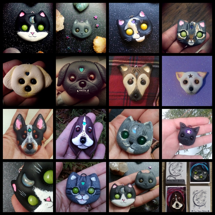 Custom cats custom dogs ! Reque - themoonbeams | ello